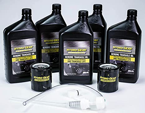 Amazon com : Hydro Gear 72750 Transaxle Oil Service Kit : Garden