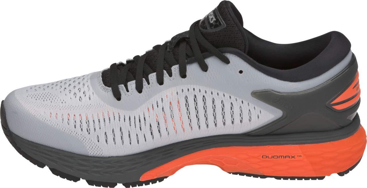ASICS Gel-Kayano 25 Men's Running Shoe, Mid Grey/Red Snapper, 7 M US by ASICS (Image #2)