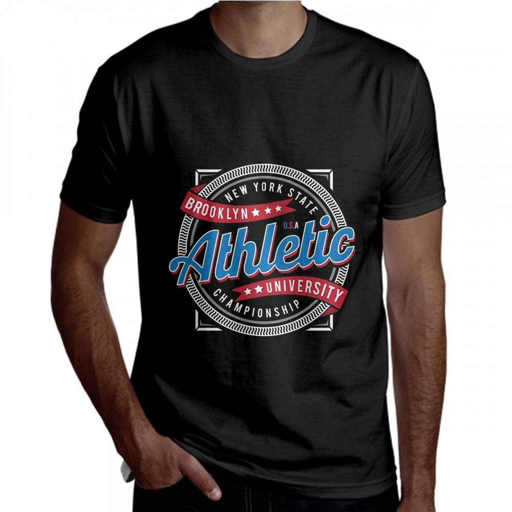 T Shirt Athletic Sport New York State Championship Short Sleeve Tee Men