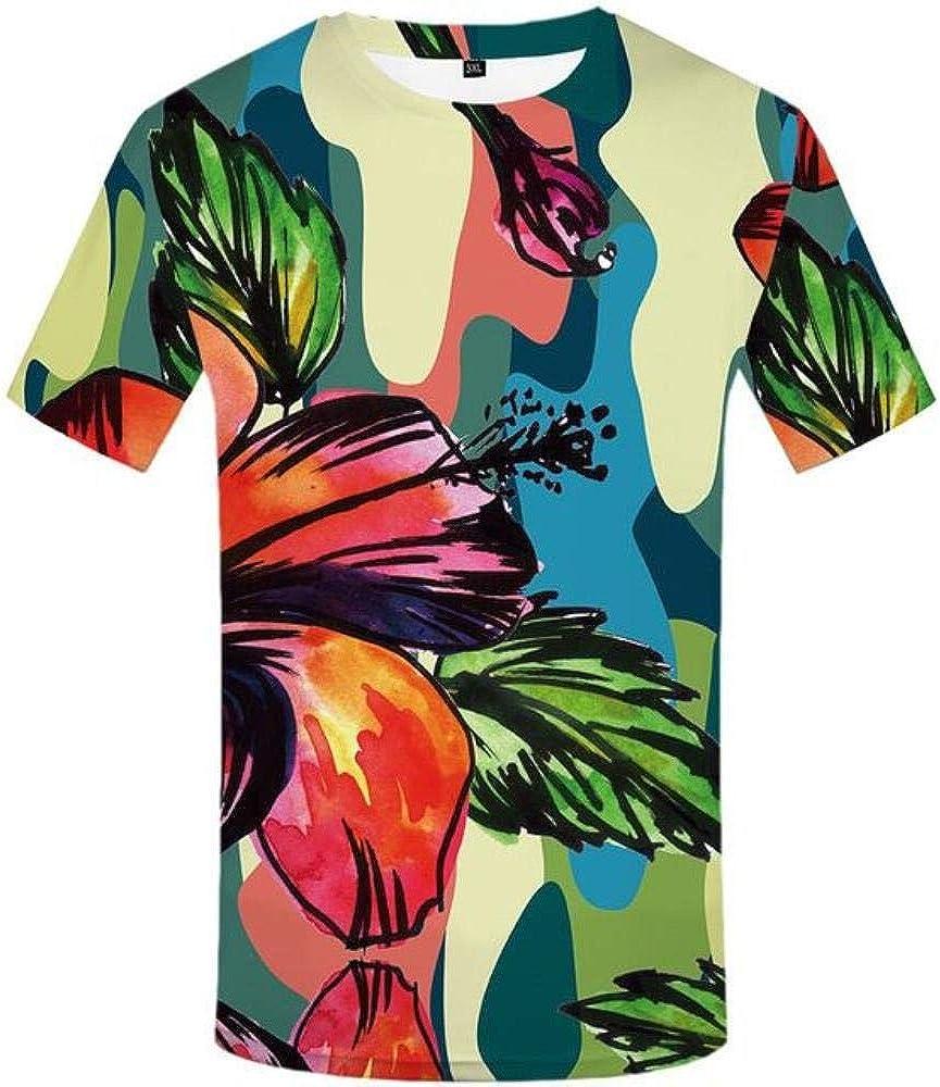 ShAwng Camiseta 3D Camiseta de Fuego Hombres Camisetas psicodélicas Llama Casual Ropa de Anime Camisa Punk Estampado Camisetas góticas 3D Manga Corta, Camiseta 3D 01, L: Amazon.es: Ropa y accesorios