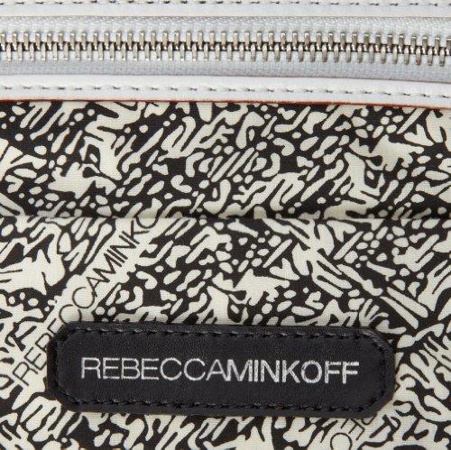 Rebecca Minkoff , Sac pour femme à porter à l'épaule blanc BIANCO