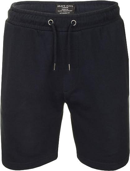 Brave Soul - Pantalones cortos deportivos - para hombre: Amazon ...