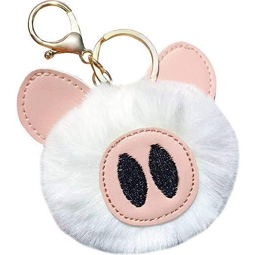 Taltaly Soft Plush Charm Cerdo Llavero, Llavero De Cerdo ...
