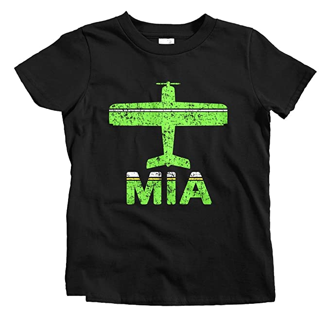 Amazon.com: Smash Vintage niños Fly Miami MIA aeropuerto ...