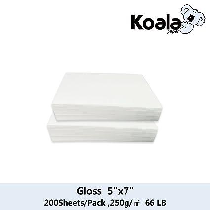 Review Koala Inkjet High Glossy