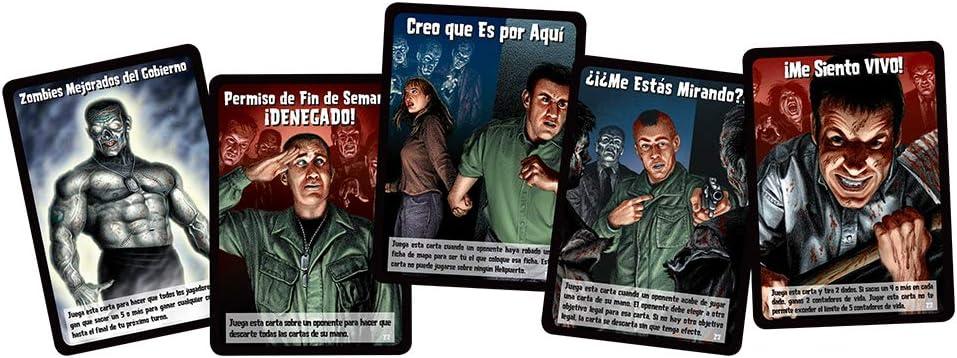 Edge Entertainment 2: Ejército Zombie-Español, Color (Fantsy Flight Games EDGTC02): Amazon.es: Juguetes y juegos
