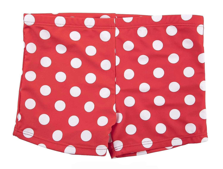 Girls Swim Shorts Dots Swimsuit Bottoms Swimming Panty Boy Shorts
