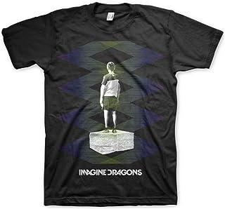 Imagine Dragons - Uomo Zig Zag T-Shirt Black