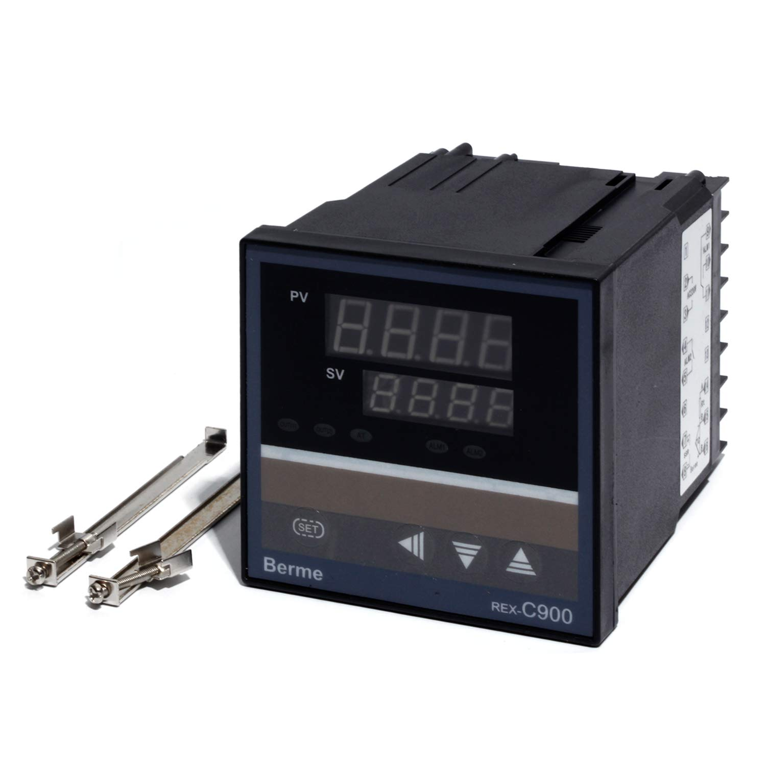 PID Temperature Controller REX-C900 Universal Input Multi-input SSR Output 9696mm Thermostat Regular 100-240VAC Supply
