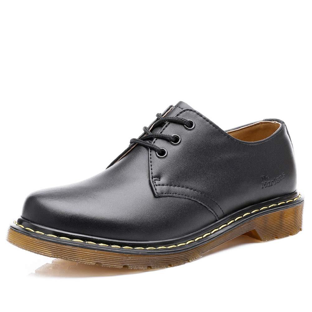Feidaeu Herren Leder Britischen Stil Business Schuhe Lässig Atmungs Bequem Set Schuhe Sommer Einfarbig Hell    New Style