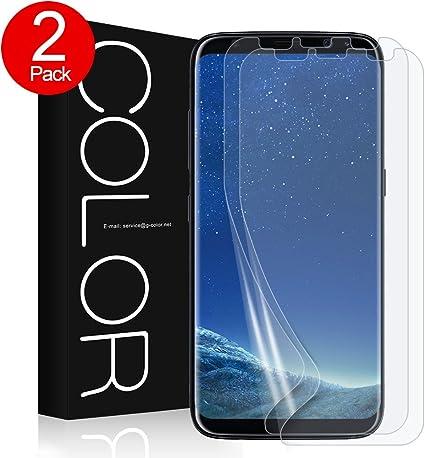 G-Color Galaxy S8PLUS Protector de Pantalla,[Alta Definición y ...