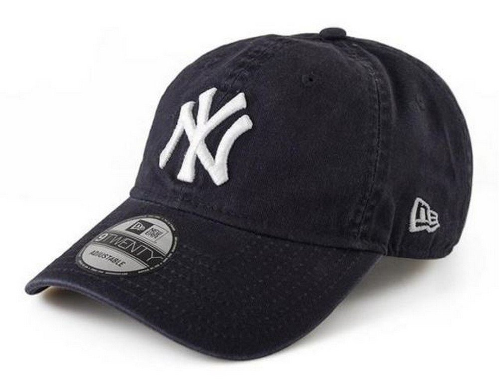 Galleon - New Era New York Yankees 9Twenty MLB Core Classic Adjustable Hat  - Navy 897481f8953f