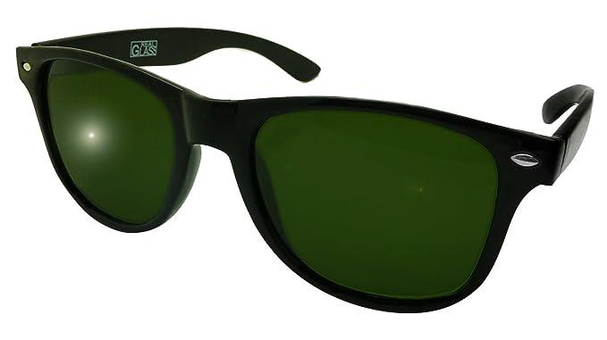 Amazon.com: PREMIUM Real lente de vidrio anteojos de sol ...