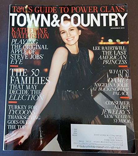 Town   Country Magazine  November 2015