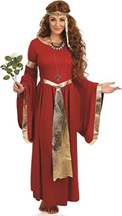 Ladies Renaissance Medieval Banquet Fancy Dress Costume Outfit 8-26 Plus Size