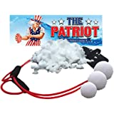 The Patriot Snow Ball Launcher / 3 Person Slingshot / Catapult 300 Feet / Winter Toy (300 Feet)