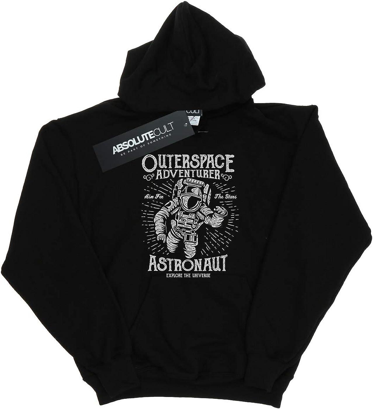 Absolute Cult Drewbacca Girls Astronaut Adventurer Hoodie