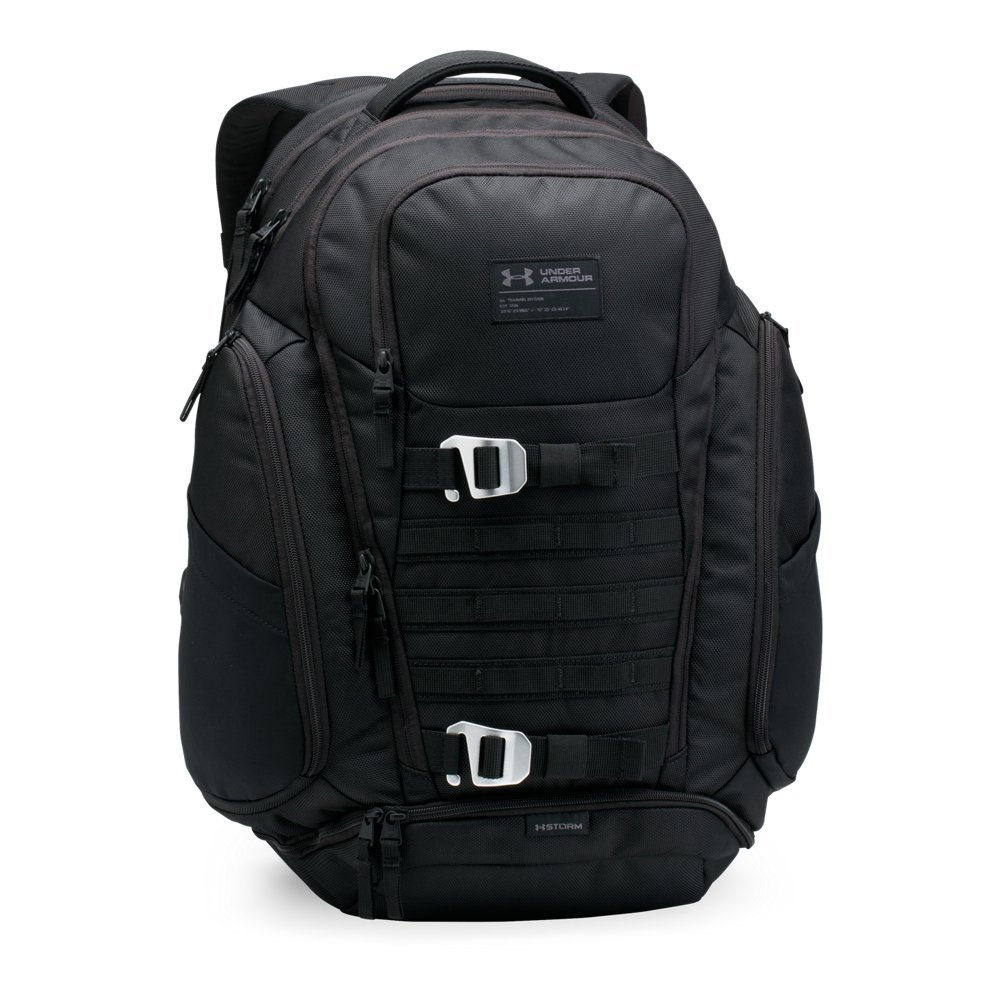 Under Armour Huey Backpack,Black (001)/Black, One Size by Under Armour