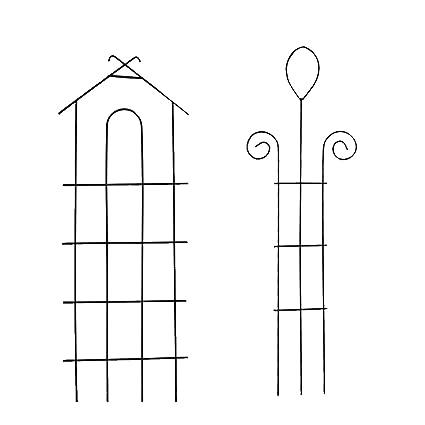 Garden Climber Shelf   Metal Flower Rack   Trellis/garden Trellis/climbing  Plants Pot