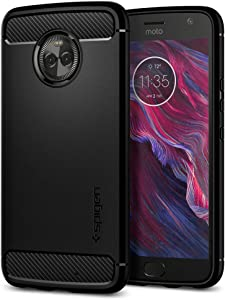 Spigen Rugged Armor Designed for Motorola Moto X4 Case (2017)- Black