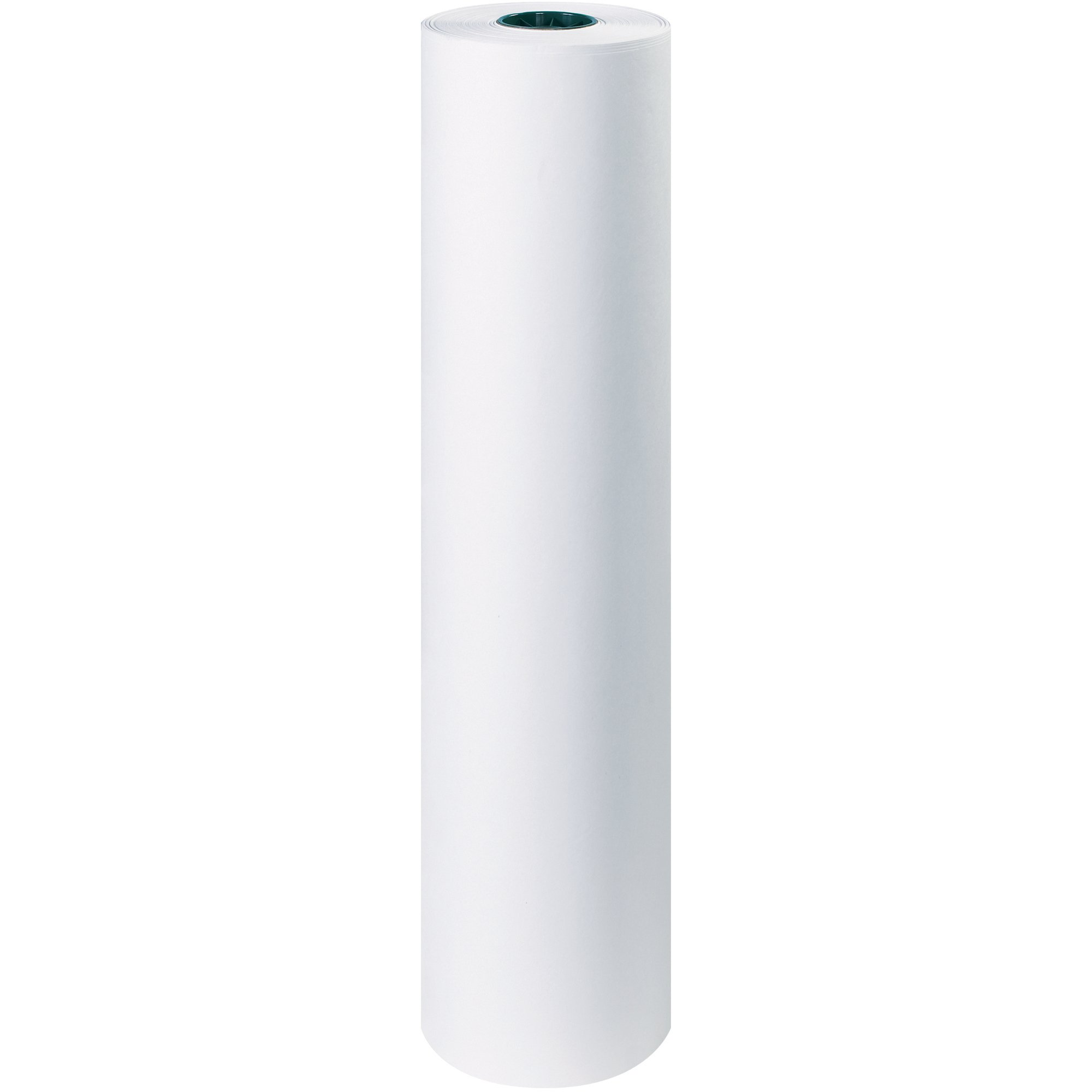 Boxes Fast Butcher Paper, 40#, 36'' x 1,000', White, (Pack of 1 Roll)