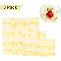 Set of 3 Beeswax Food Wrap - 7x8''