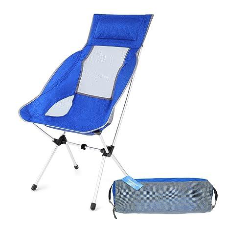 Pêche Pour Randonnée La Chaise Jardin Tomshoo Idéal Plage Camping Pliable Légère Confortable E2WHeY9ID