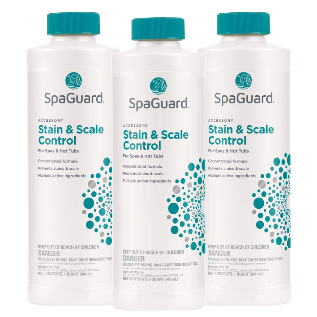 SpaGuard Stain and Scale Control (1 qt) (3 Pack) by SpaGuard