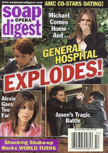 Jennifer Bransford Dylan Cash General Hospital LaurenMarie Taylor Actors Playing Multiple Roles  April 26 2005 Soap Opera Digest Magazine