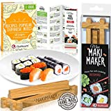 Sushi Making Kit by iSottcom – Makimaker – Sushi Maker Best for Beginners and Kids – Sushi Kit – Japanese Sushi and Rolls at Home Quick and Easy with Sushi Mold – Sushi Press – Original Gift Idea