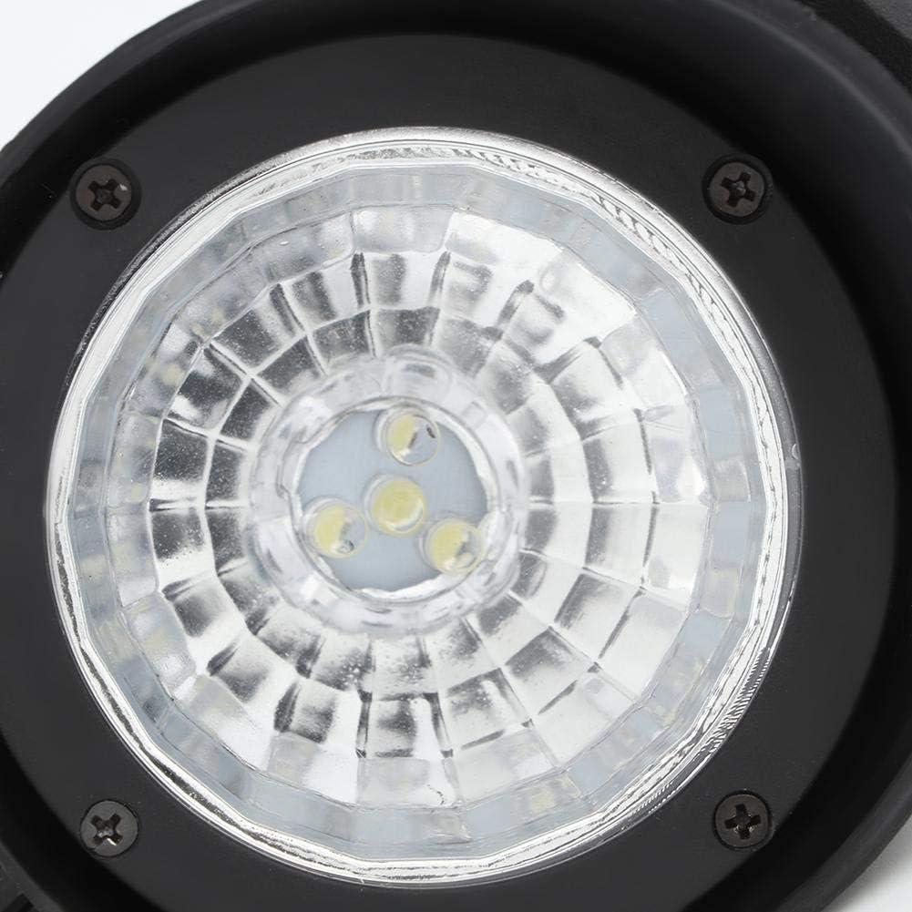 Mumusuki 4LED Lampada da Prato alimentata a energia Solare IP44 Impermeabile Lampada da Esterno a Un Pulsante Lampada per Illuminazione Decorativa