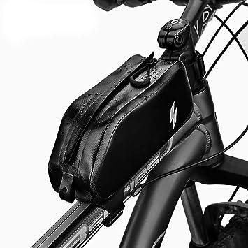 S//M ICOCOPRO Bike Frame Bag Waterproof Bike Top Tube Bag Triangle Large Capacity Bicycle Bag Professional Cycling Accessories