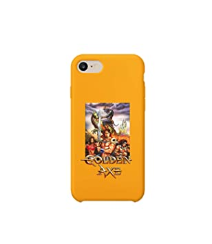 GlamourLab Golden Axe Poster Place Fight World_R2990 Carcasa De Telefono Estuche Protector Case Cover Hard Plastic Compatible with For iPhone 8 Plus Novelty Present Birthday: Amazon.es: Electrónica