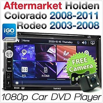 Tunez Holden Colorado Rodeo Reproductor DVD GPS Sat Nava CD Radio Estéreo Unidad de Coche USB: Amazon.es: Coche y moto