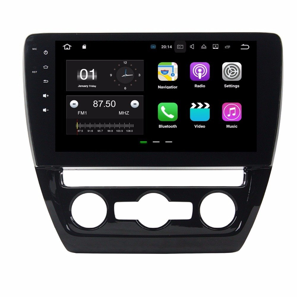BoCID Android 7.1 Car Radio DVD GPS Multimedia Head Unit for VW Volkswagen SAGITAR 2015 2016 With 2GB RAM Bluetooth WIFI Mirror-link by BoCID (Image #1)