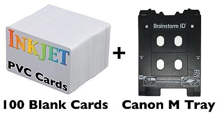 Tarjeta de inyección de tinta PVC Kit para Canon Pixma ...