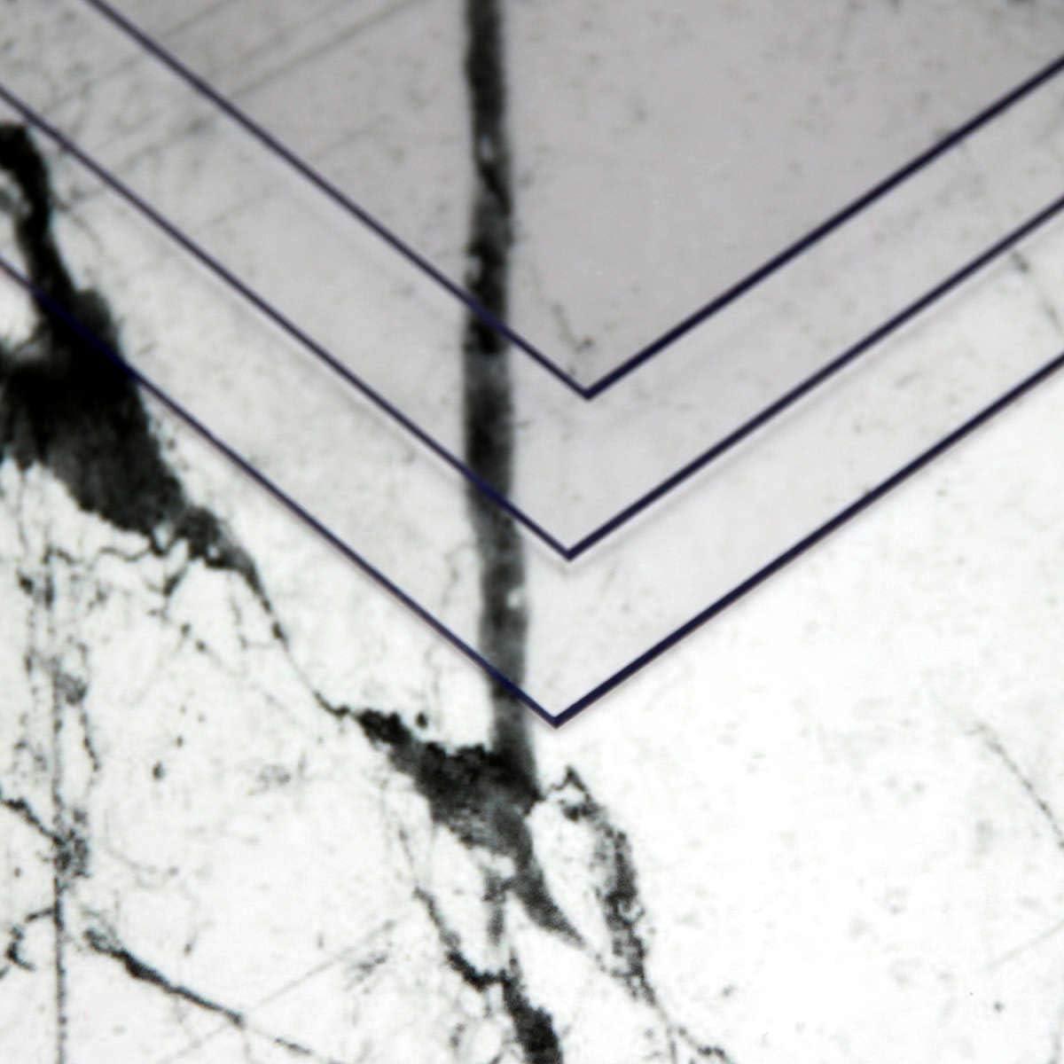 mit beidseitiger Schutzfolie in verschiedenen Gr/ö/ßen und Mengen f/ür Modellbau//Basteln Polycarbonat durchsichtige PC Kunststoff Platten A4 30x21cm 5 St/ück 1,8mm starke PC-Platten glaskare