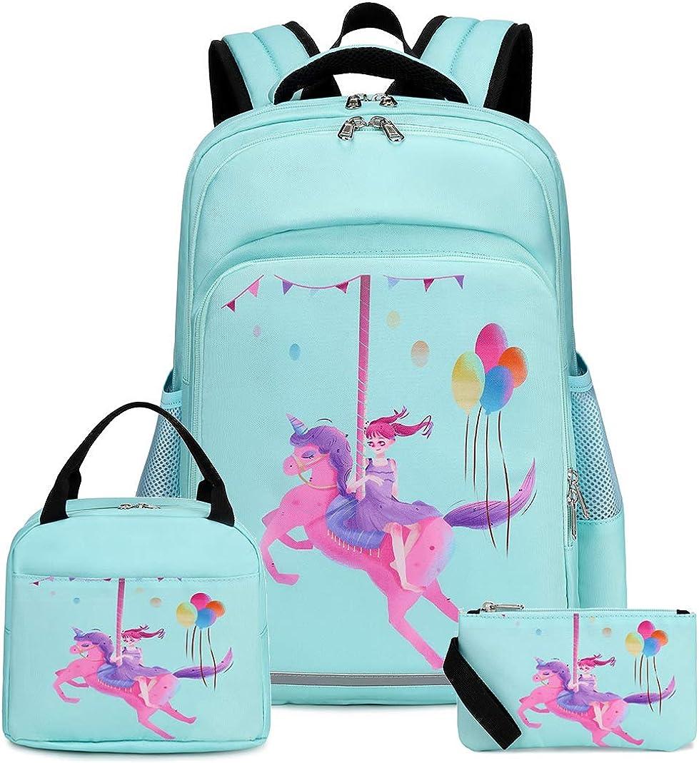 School Backpack Galaxy Teens Girls Boys Kids School Bags Bookbag with Laptop Sleeve