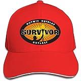 CSECGAR Survivor Sign Adjustable Baseball Cap Fitted Cap Black