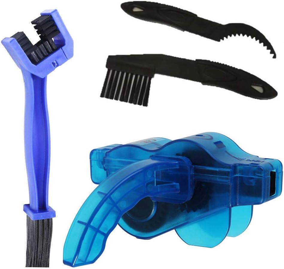 Limpiador de cadena + cepillos para trasmisión