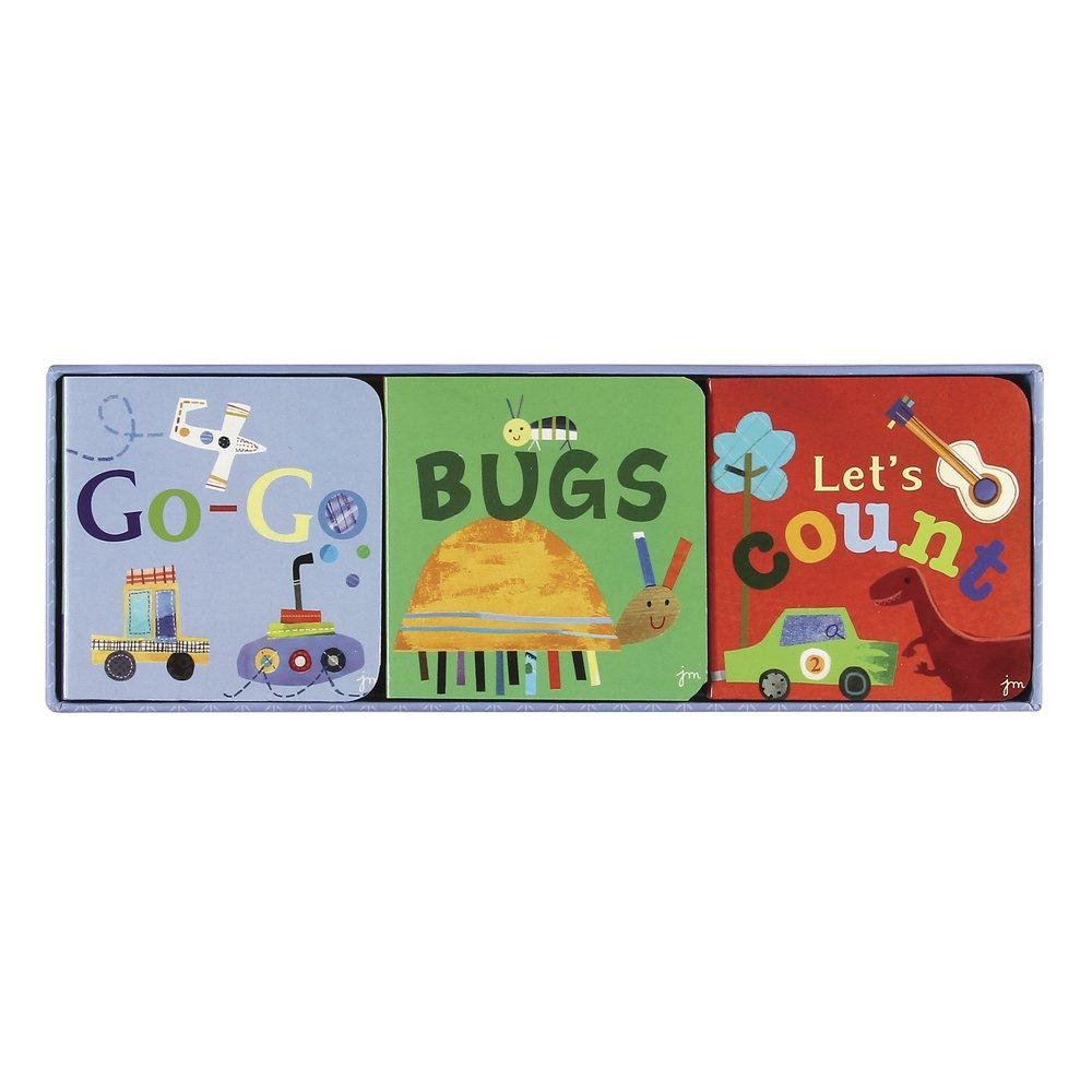 CRG Jill McDonald Kids Set of 3 Little Chunky Books, All Boy C.R. Gibson BCBS-11141