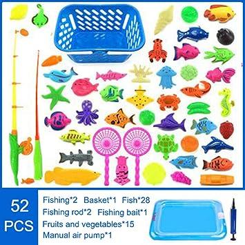 symboat juguete niños juego de pesca magnético para niños juegos ...