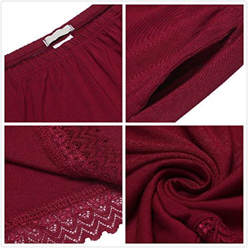 UNIbelle UNIbelle Pantaloncini Vinaccia Pantaloncini Donna 5aaxp6q1w