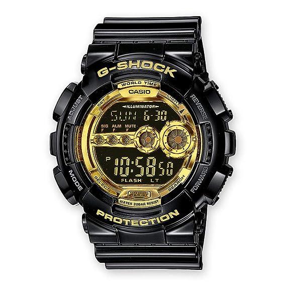 Casio Reloj de Pulsera GD 100GB 1ER: Amazon.es: Relojes