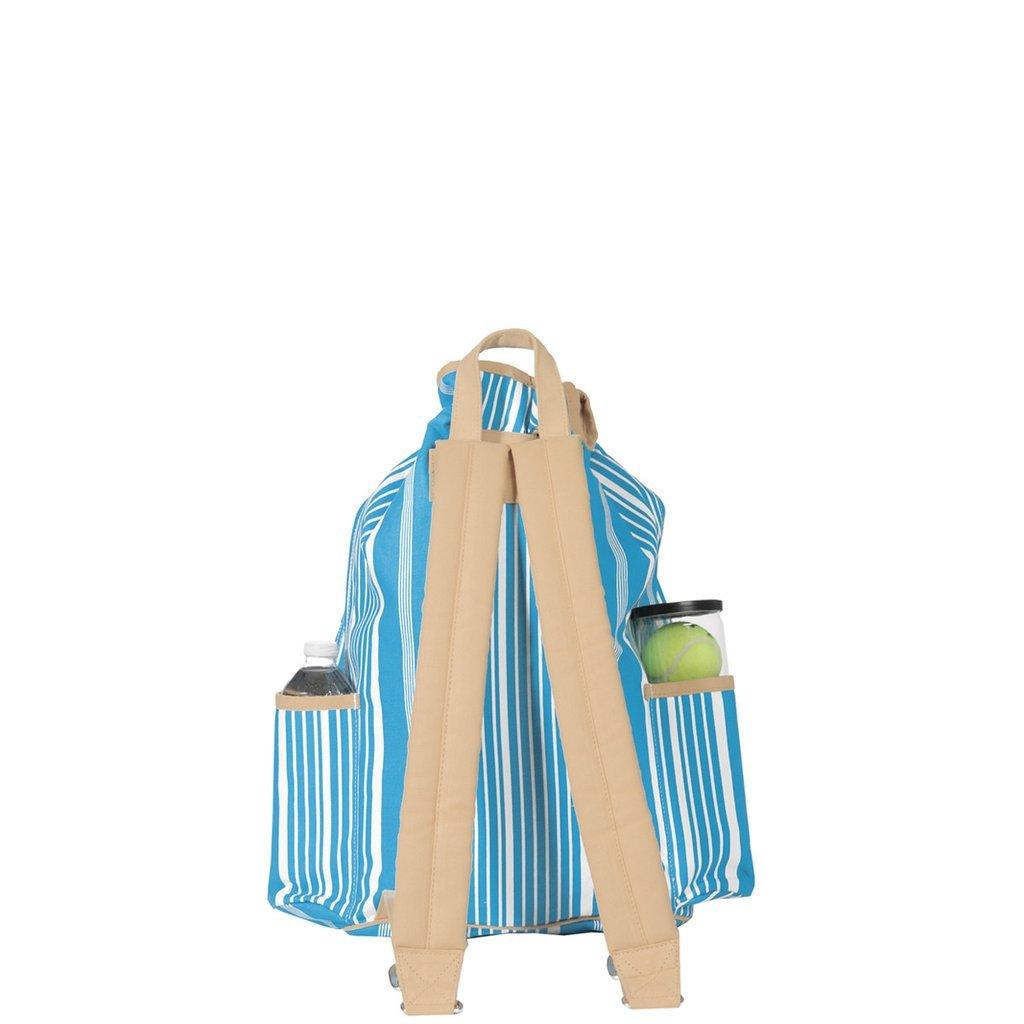 Ame & Lulu Kingsley Tennis Backpack (Ticking Stripe) by Ame & Lulu (Image #2)