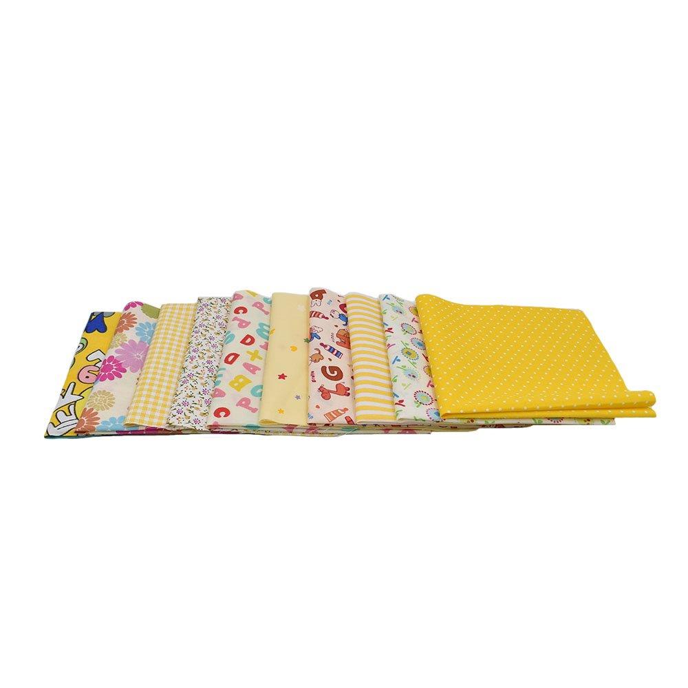 Raylinedo® 10pcs 16 x 16 Inches /(40 cm x 40 cm/) impresión algodón