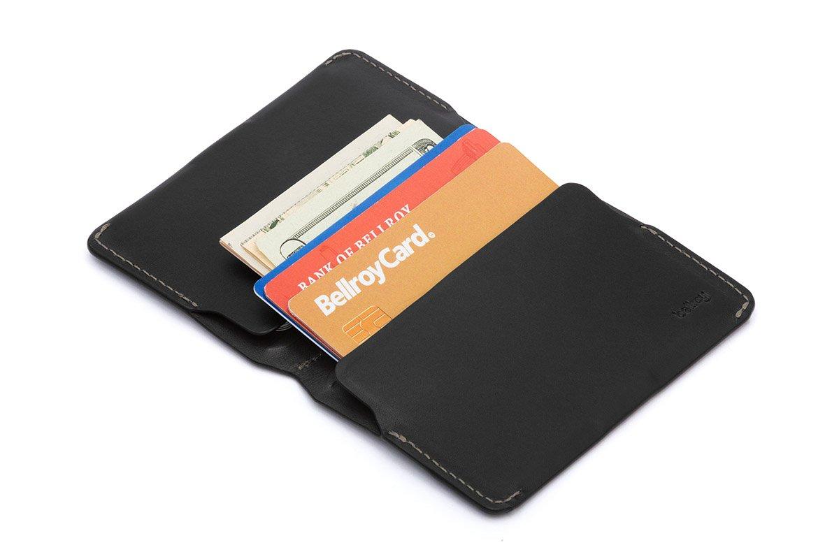 Cartera de Piel Bellroy para Hombre Card Holder Black: Amazon.es: Equipaje