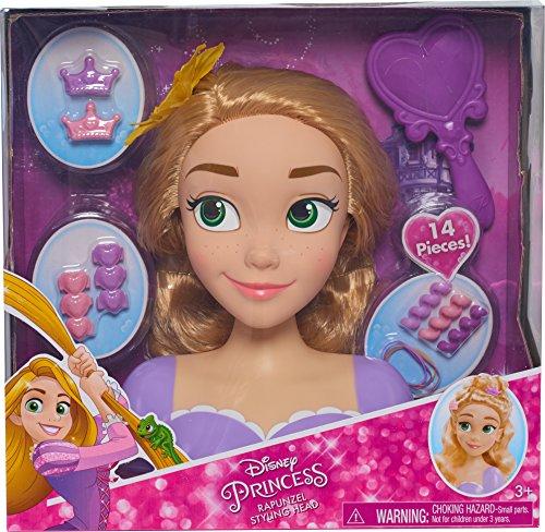 61iMA%2BB8J%2BL Disney Princess 87155 Rapunzel Styling Head Doll