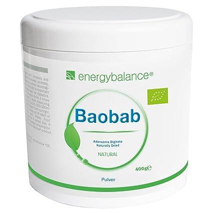 Baobab polvo (baobab powder) ecológico | Bio Vitamina C | Bio Calcio | Bio