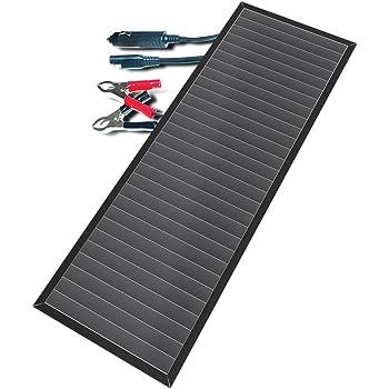Amazon Com Ironton Solar Panel Twin Pack Two 12 Volt